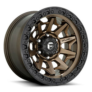 16 Inch Bronze Black Rims Wheels Toyota Tacoma 4 Runner Fuel Covert D696 16x8 4