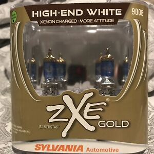 Sylvania Silverstar Zxe 9006 Headlight Bulbs Xenon Fueled 1 Pair New