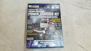 Reliance Controls 8000 Watt 6 circuit Generator Transfer Switch Model 3006hdk