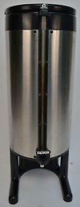 Fetco Luxus 1 5 Gallon Stainless Thermal Coffee Beverage Dispenser Urn