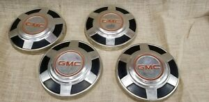 1973 1987 73 87 Gmc Chevy C20 3 4 Ton Pickup Truck Dog Dish Hubcaps 12 Inch Oem
