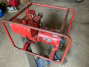Vtg 3000 Watt Dayton 3w178 Generator Alternator 120 240v 8hp Briggs Stratton