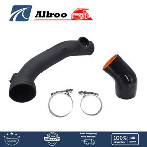 4 Inlet Cold Intake High Flow Round Cone Air Filter For Gmc Chevy Black