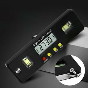 Magnetic Horizontal Angle Meter Electronic Digital Protractor Level Inclinometer
