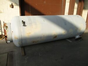 Stover Tanks Pressurized Water Tank 123722 700 Gallons 125psi 450f Used