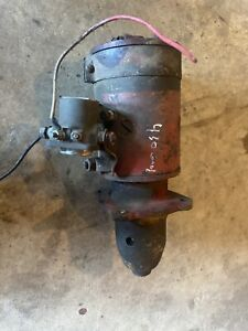 Farmall 400 450 Tractor Good Engine Motor 12v Starter Assembly Antique Tractor