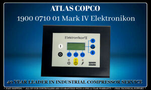 Atlas Copco 1900 0710 01 Mark Iv Programmed With Your Compressors Settings