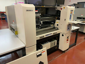Samsung Cp45f Neo Pick And Place Machine With 30 Feeders And Vibe Feeder