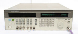 Hp 83731a 8ghz 20ghz Synthesized Signal Generator Opt 1e1 1e2 1e5 237