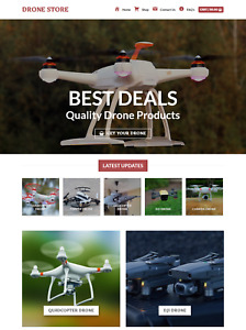 Profitable Drone Store Turnkey Dropship Website Business For Sale