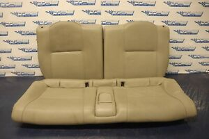 2002 04 Acura Rsx Type s K20a2 2 ol Oem Leather Rear Seat crease Bottom 4452