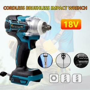 18v 1 2 520nm Torque Electric Impact Wrench Brushless Cordless Drill Driver