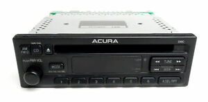 1997 01 Acura Integra Am Fm Single Disc Cd Radio Player Part 39100 st7 a500 Blem