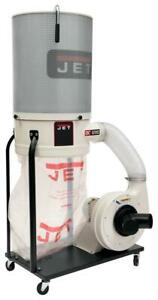 Jet 710704k Dc 1200vx ck3 Dust Collector 2 Hp 3ph 230 460 V 2 micron Canis