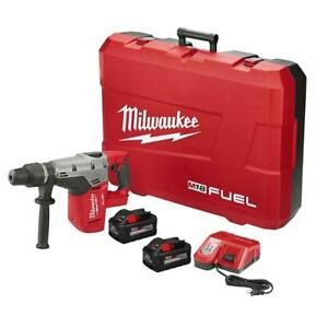 Milwaukee 2717 22hd M18 Fuel High Demand 1 9 16 In Sds Max Hammer Drill Kit