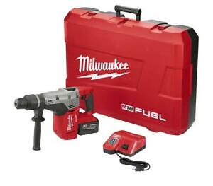 Milwaukee 2717 21hd M18 Fuel High Demand 1 9 16 In Sds Max Hammer Drill Kit