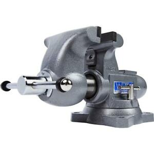 Wilton 28807 Tradesman 6 1 2 Round Channel Vise With Swivel Base