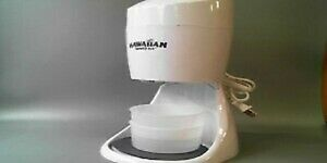 Hawaiian Shaved Ice And Snow Cone Machine 3 Flavor Syrup Pack Access S900a