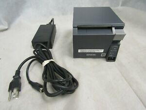 Epson Tm t70ii M296a Pos Receipt Printer W ac Adapter Tested And Working