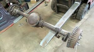 70 81 Firebird Camaro Original 3 42 Gear Non Posi Open Rear End Axle 10 Bolt