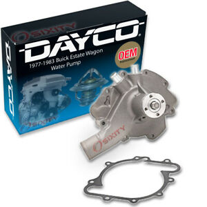 Dayco Engine Water Pump For 1977 1983 Buick Estate Wagon 5 0l 5 7l 6 6l V8 Ls