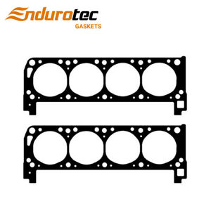 Head Gaskets pair For Ford Falcon Fairlane Bronco Cleveland 302 351 V8 70 85