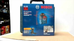 Bosch Gll220 360 Horizontal Cross line Laser In Hard Case New Sealed