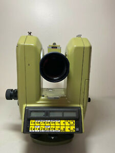 Wild Theomat T3000 Heerburg Theodolite Total Survey Station With Manual