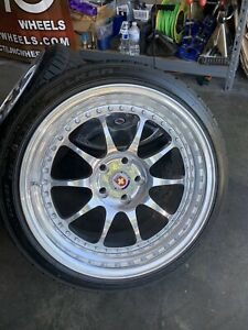 18 Hre Classic 5x112 Staggered 3 Piece Wheels