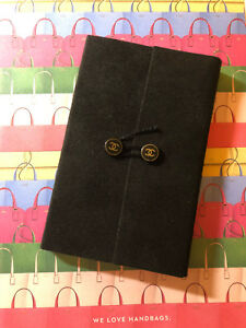 New Chanel Small Handy Notebook Note Pad Collectible Vip