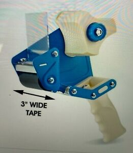 New Uline H 596 Packing Tape Dispenser Gun 3 inch Side Load 1ct