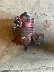 Farmall M Mv Early Sm Ih Tractor Engine Motor Marvel Carburetor Assembly Ihc