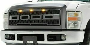 For 2008 2010 Ford F250 F350 Front Grille W Led Lights In Stock