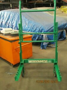 Greenlee 916 Cable Reel Transporter Cart Dolley