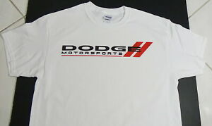 New Dodge Motorsports T Shirt Muscle Car 6 4l 392 Aar Cuda Plymouth Nhra Mopar