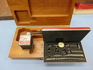 Starrett Last Word 711 Dial Indicator With 657 Magnetic Base