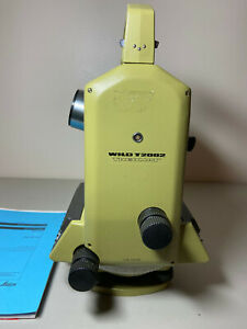 Wild Theomat T2002 Theodolite Total Survey Station parts Or Repair