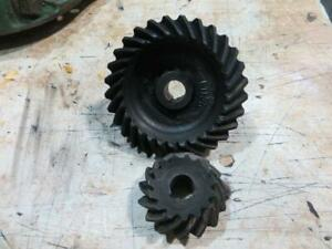 John Deere G 70 Governor Fan Gear Drive Set Af530r F114r And F113r