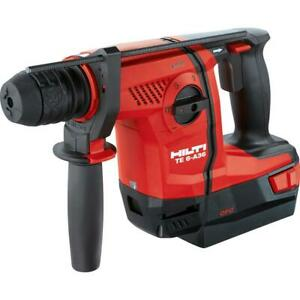 Hilti Te 6 a36 Bulk 36v Cordless Combihammer Brand New Tool Only Free Shipping