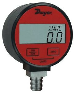 Dwyer Dpga 10 Digital Pressure Gauge For Air gas With 1 Accuracy 0 To 300 Psi
