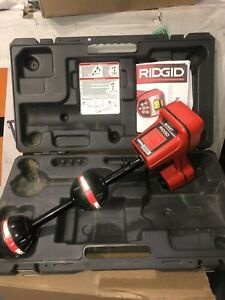 Ridgid Navitrack Scout Underground Cable Wire Locator With Case Sonde Seesnake