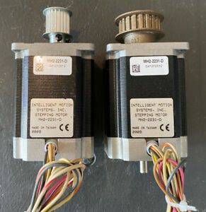 Lot Of 2 Intelligent Motion Systems Stepper Stepping Motor Mh2 2231 d