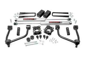 07 20 Toyota Tundra 2wd 4wd 3 5 Rough Country Spacer Lift Kit N3 Shocks 76830