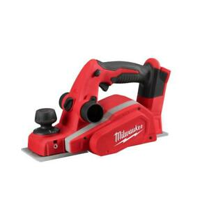 Milwaukee 2623 20 M18 3 1 4 In Planer tool Only