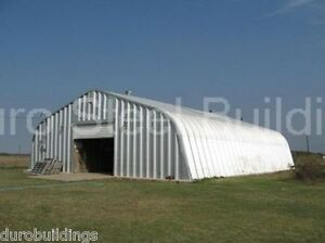 Durospan Steel A40x110x18 Metal Arch Building Shed Storage Garage Factory Direct