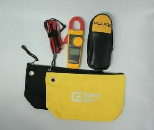 New Fluke 323 True rms Clamp Meter With Leads Gift Bag