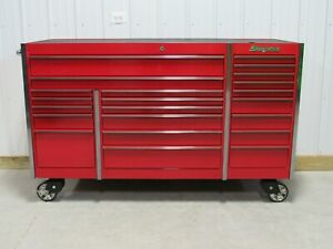 Snap On Candy Apple Red Krl1023 Tool Box Work Mat