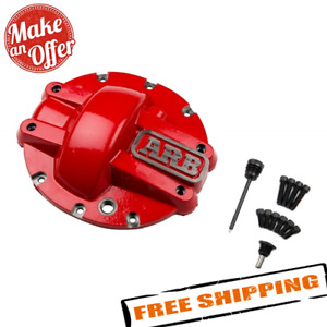 Arb 750007 Red Rear Differential Cover For Gm 8 5 10 Bolt Axles