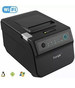 Scangle Sgt 88iv Desktop Usb Direct Thermal Pos Receipt Printer