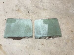 1973 1979 Ford Truck Bronco Window Door Glass Set 1976 1974 1978 1977 Oem